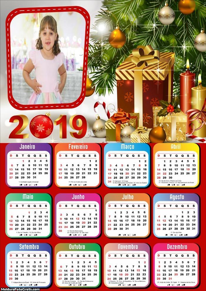 Calendário Kit Natalino 2019
