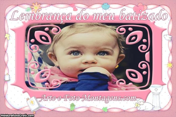 Batizado Lembrança Menina Rosa