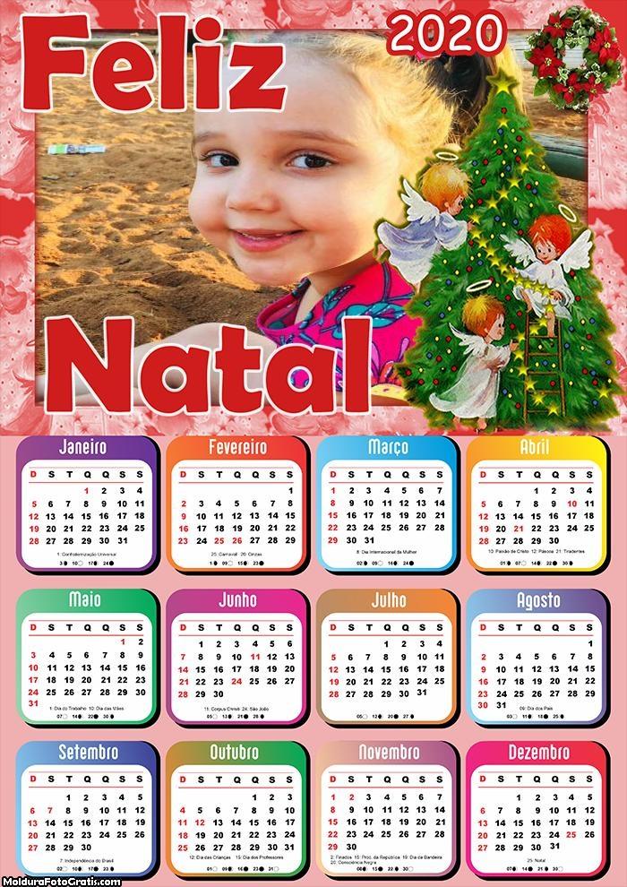 Calendário Um Feliz Natal 2020