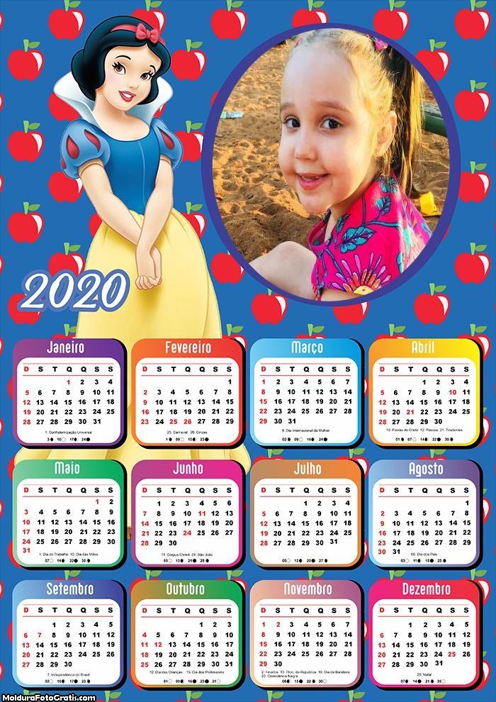 Calendário Branca de Neve 2020