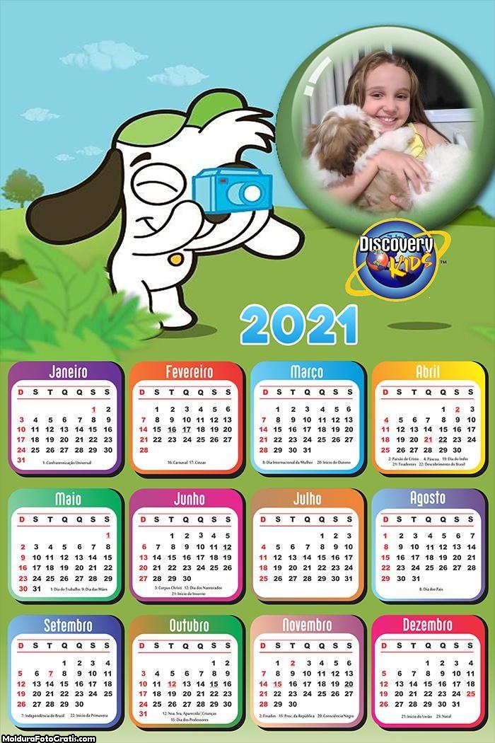 Calendário Doki 2021