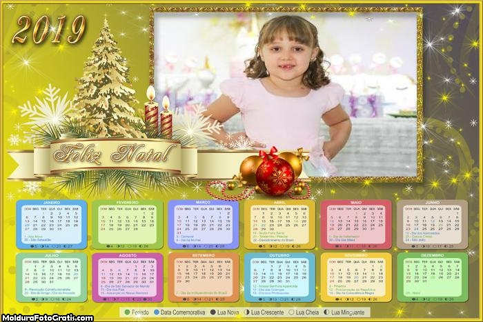 Calendário Lindo Natal 2019