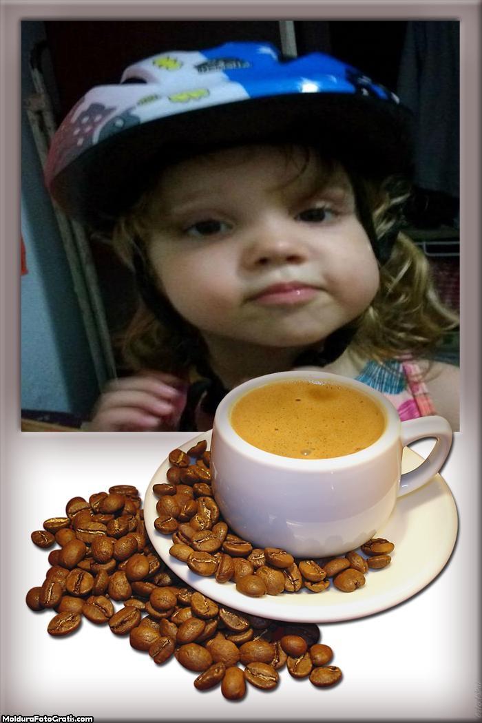 FotoMoldura Xicara de Café