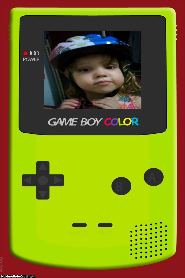 FotoMoldura Mini Game Boy Tecnologia