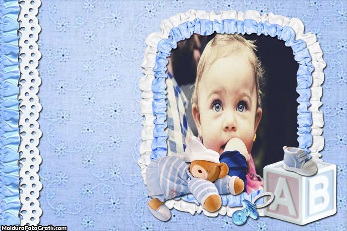 Meu Bebê Menino Moldura