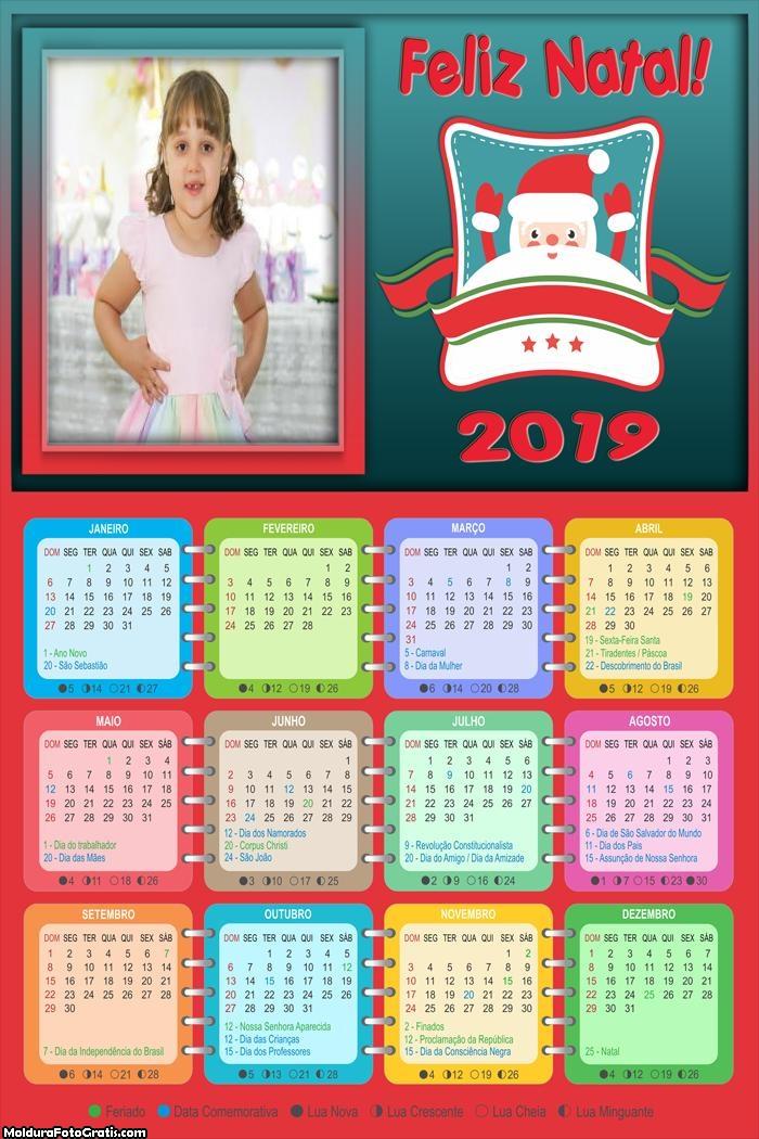 Calendário Cama do Papei Noel 2019