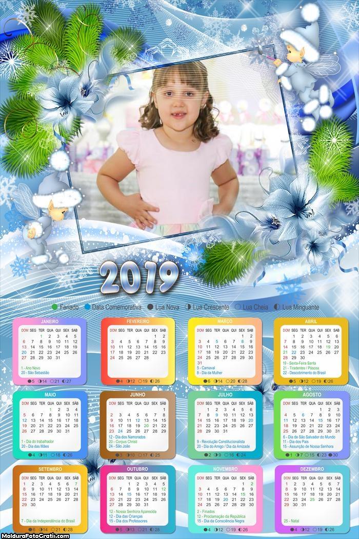Calendário Anjinhos do Natal 2019