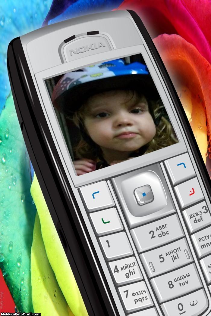 FotoMoldura Celular Nokia Tecnologia