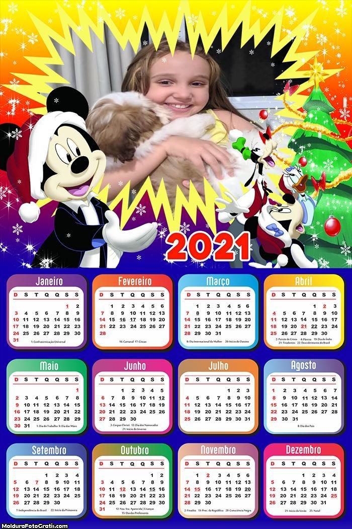 Calendário Natal Mickey 2021