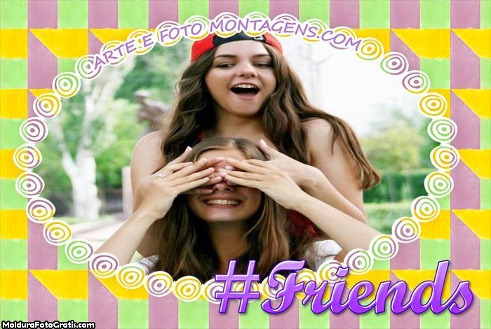 Friends Moldura Amizade