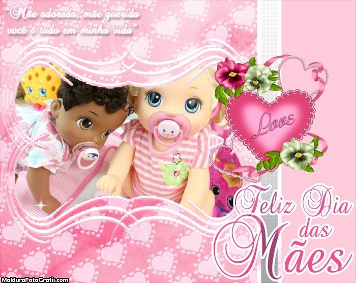 Mensagem Dia das Mães Adorada Mãe Querida