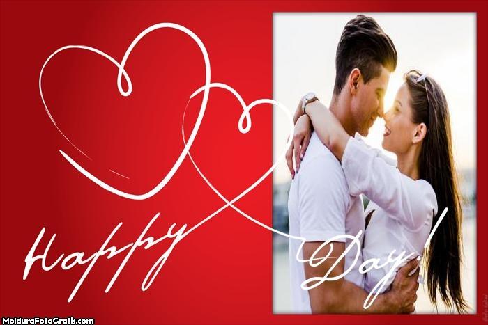 Happy Day Dia dos Namorados Moldura