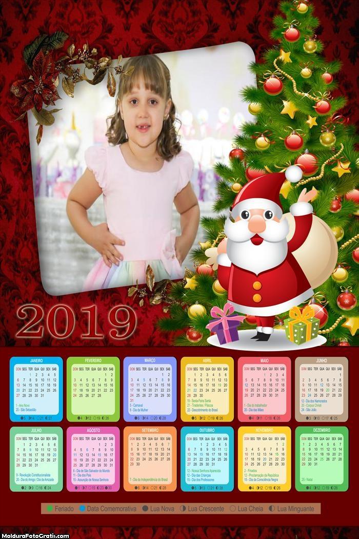 Calendário Especial de Natal 2019