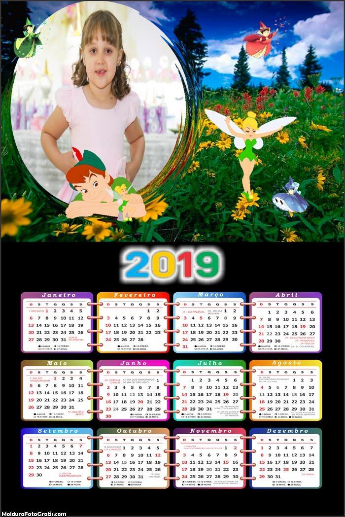 Calendário Peter Pan 2019