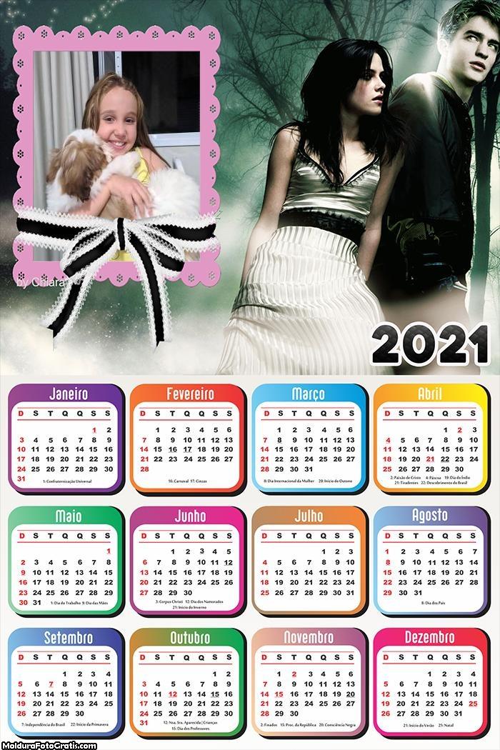Calendário Crepúsculo 2021