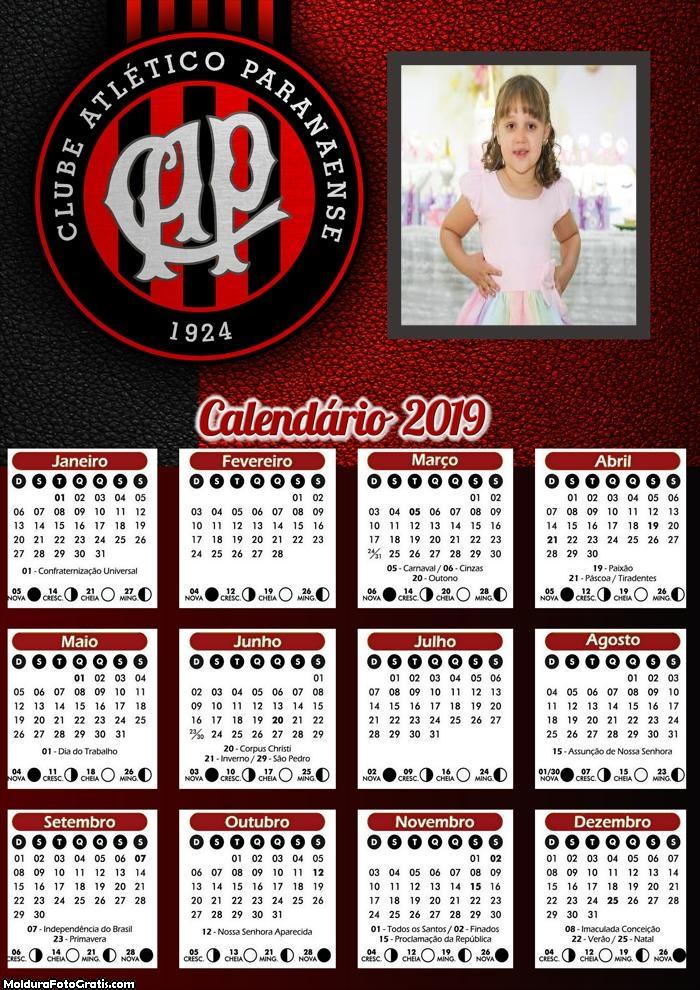 Calendário do Atlético Paranaense