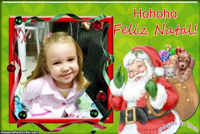Feliz Natal Ho Ho Ho Papai Noel
