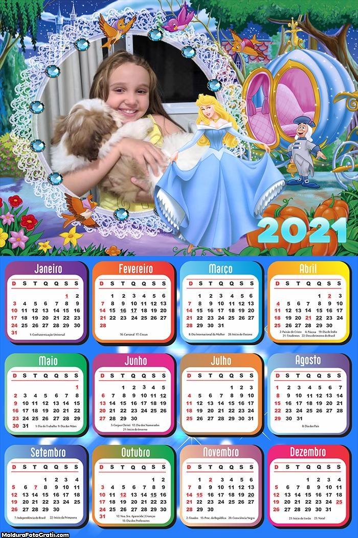 Calendário Cinderela 2021