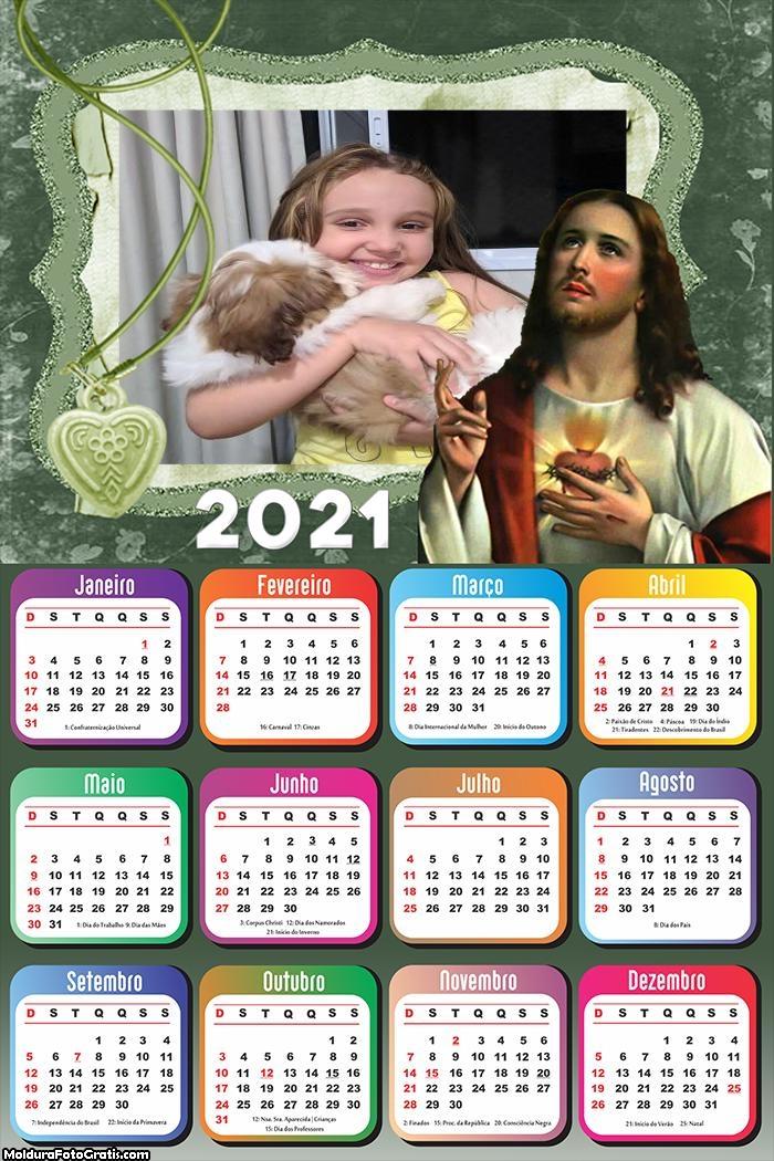 Calendário Senhor Jesus Cristo 2021