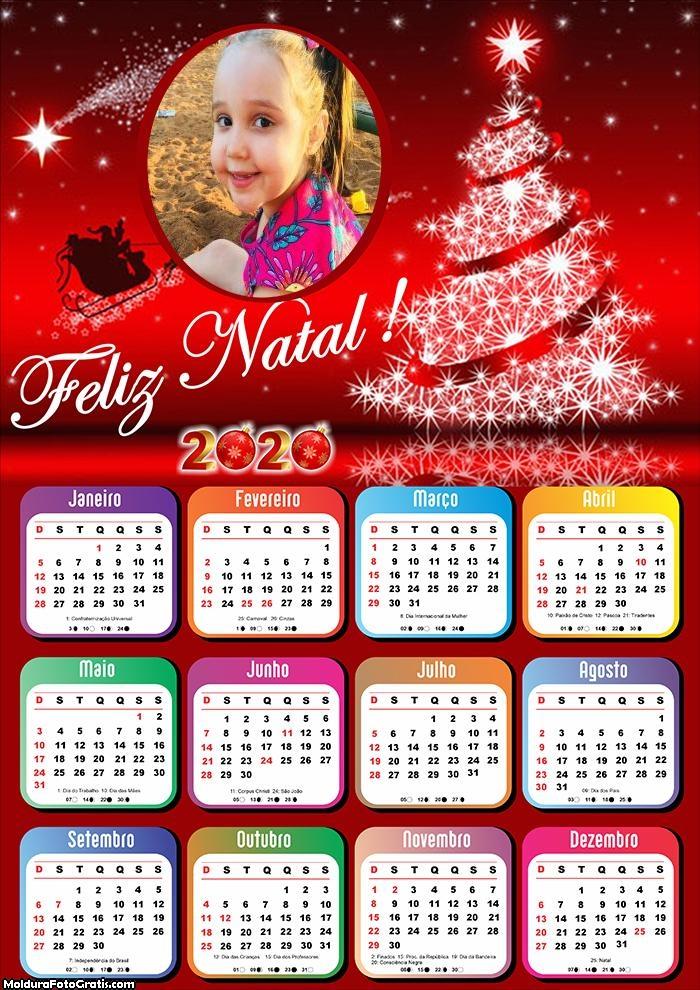 Calendário de Natal 2020