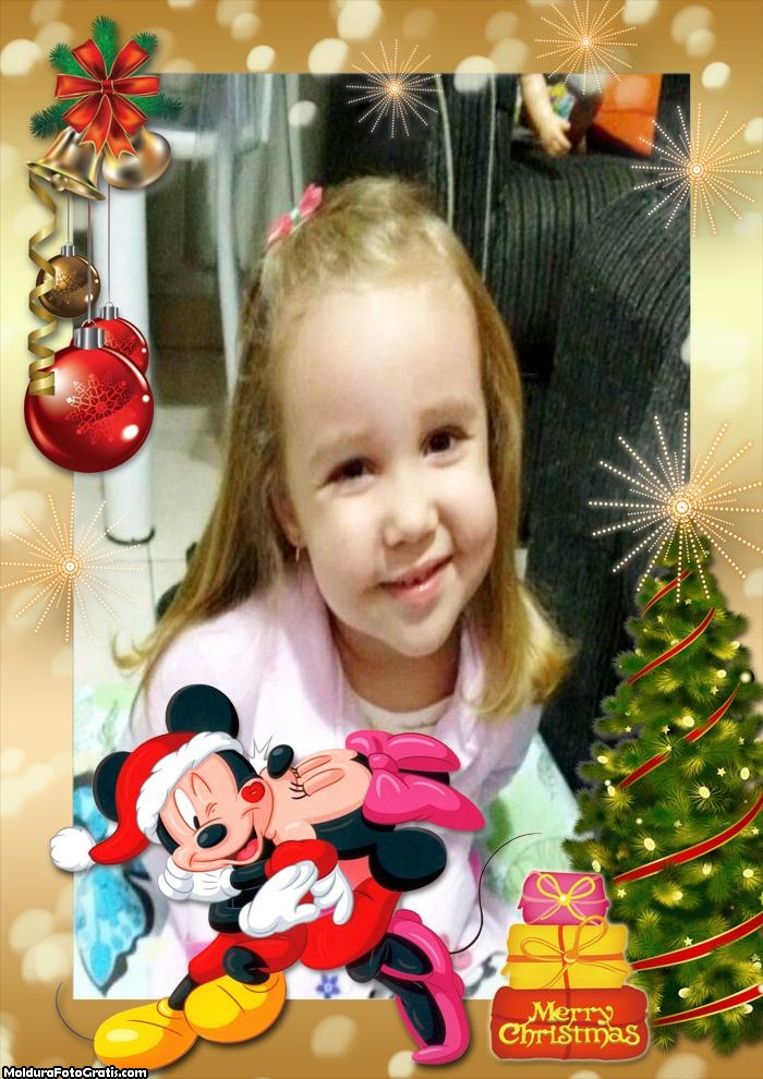 Feliz Natal Mickey e Minnie Disney