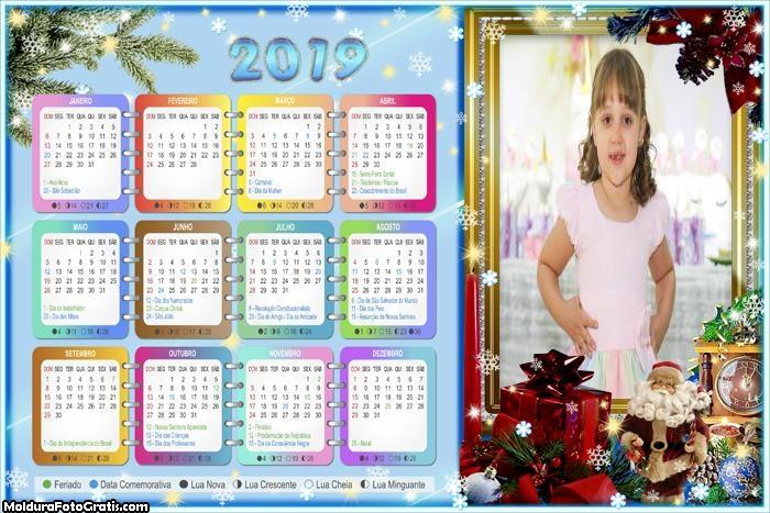 Calendário Então é Natal 2019
