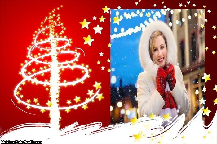 Árvore de Natal de Led Moldura