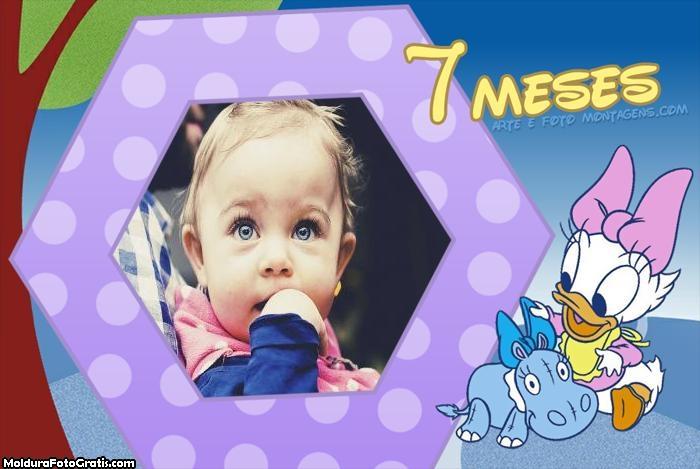 Margarida Baby 7 Meses Moldura