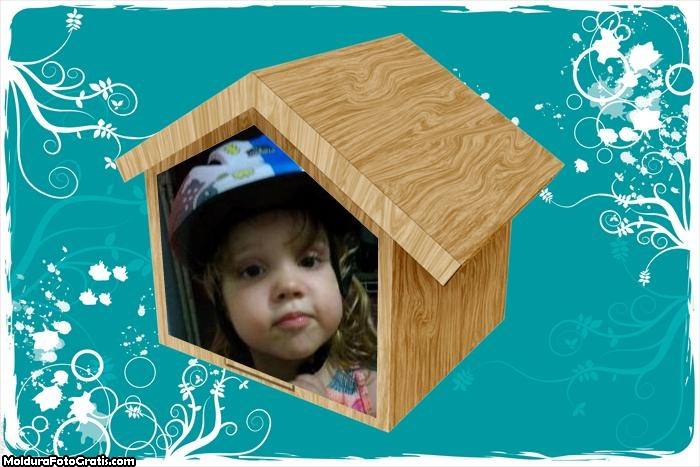 Montagens com Fotos Casinha Infantil
