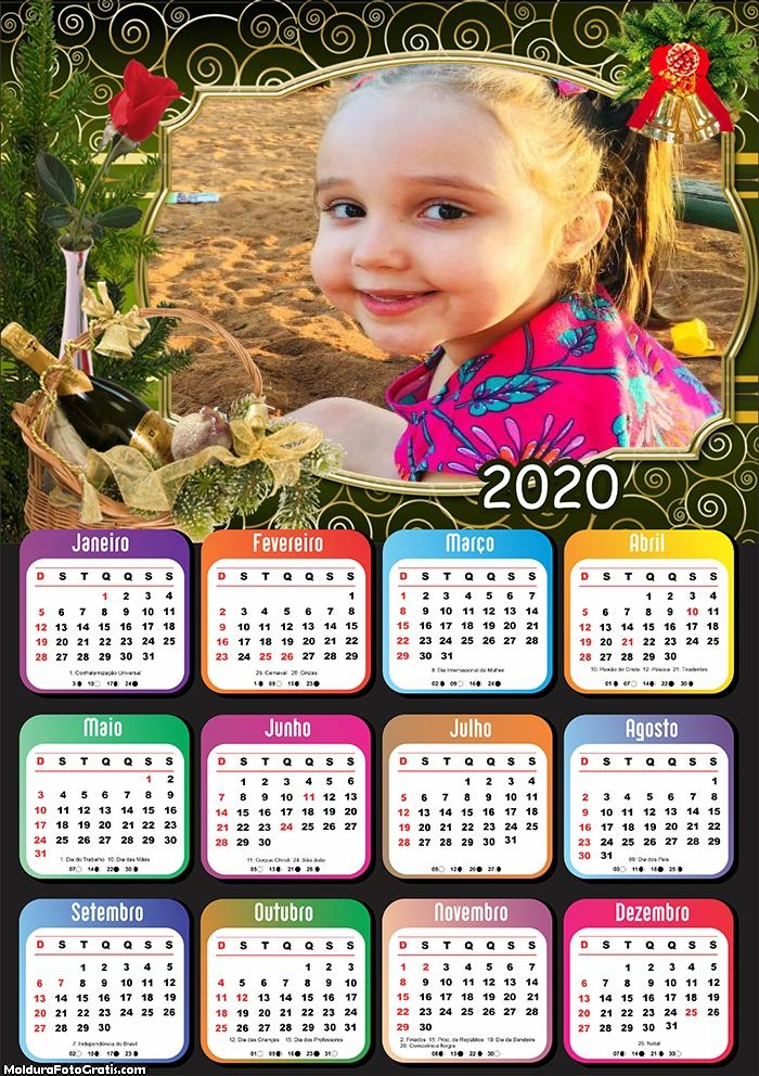 Calendário Cesta Natalina 2020