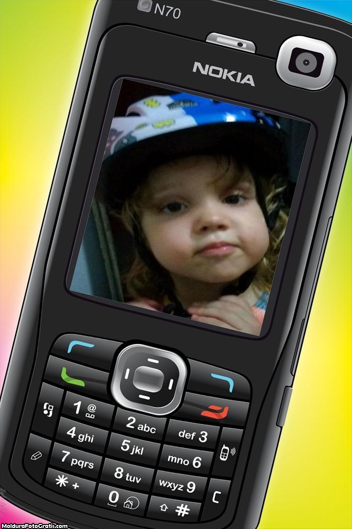 FotoMoldura Celular N70 Nokia Tecnologia