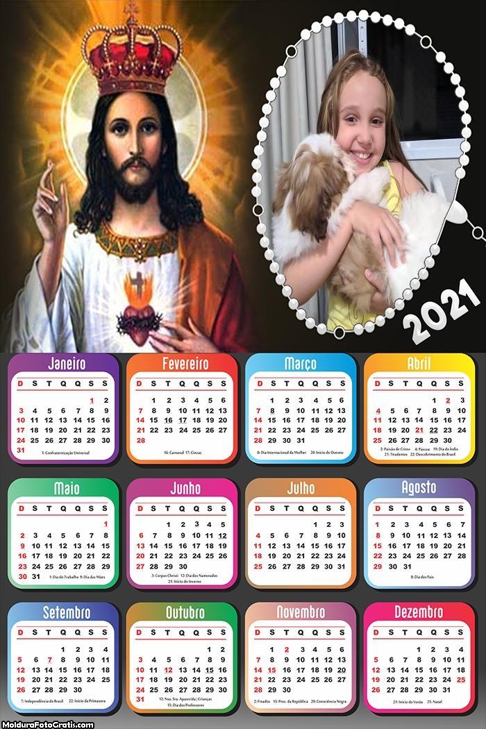 Calendário de Jesus 2021