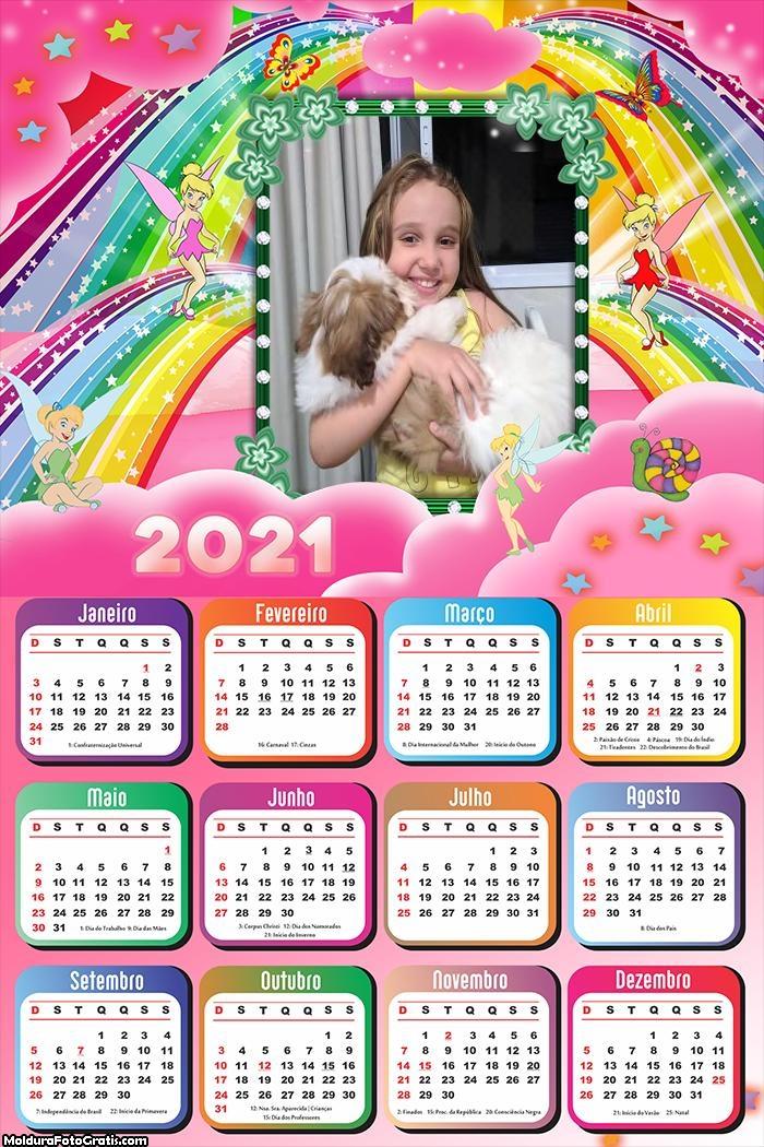 Calendário da Sininho 2021