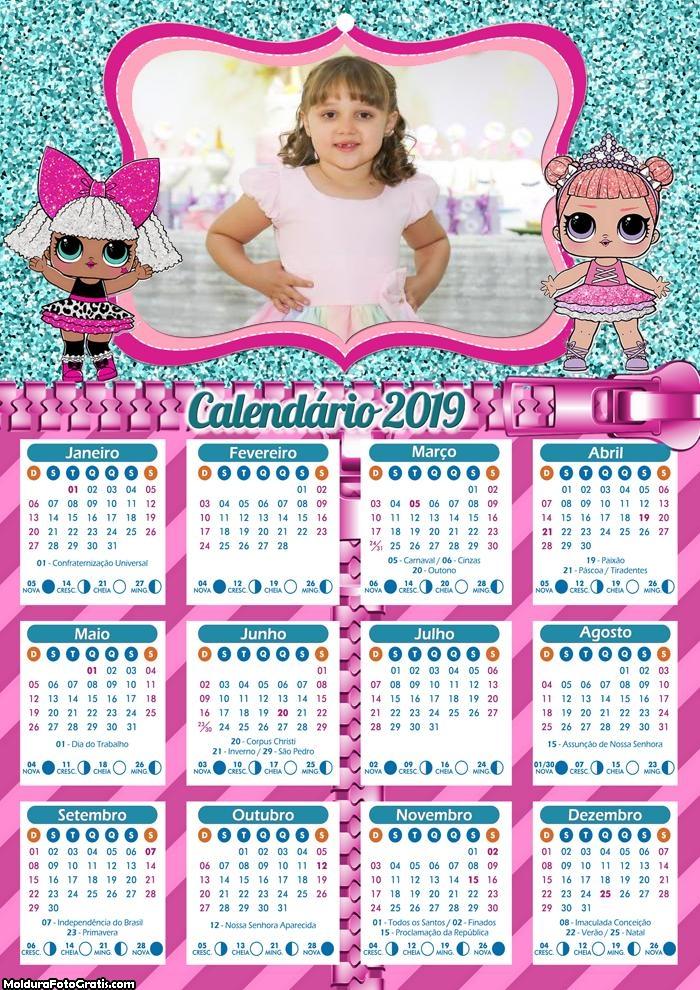 Calendário LOL 2019
