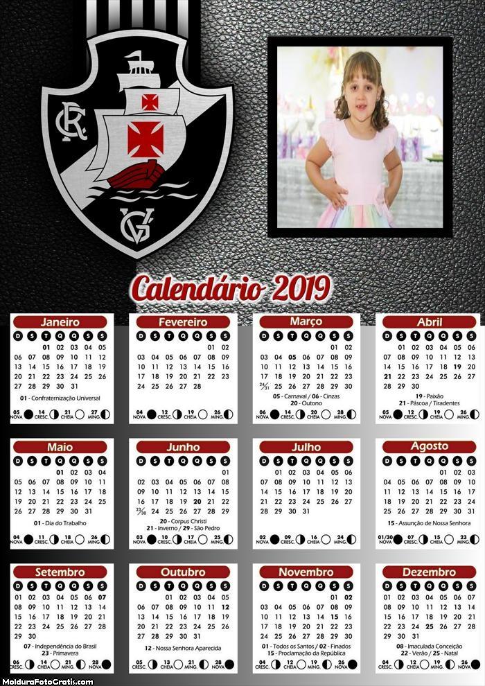 Calendário do Vasco 2019