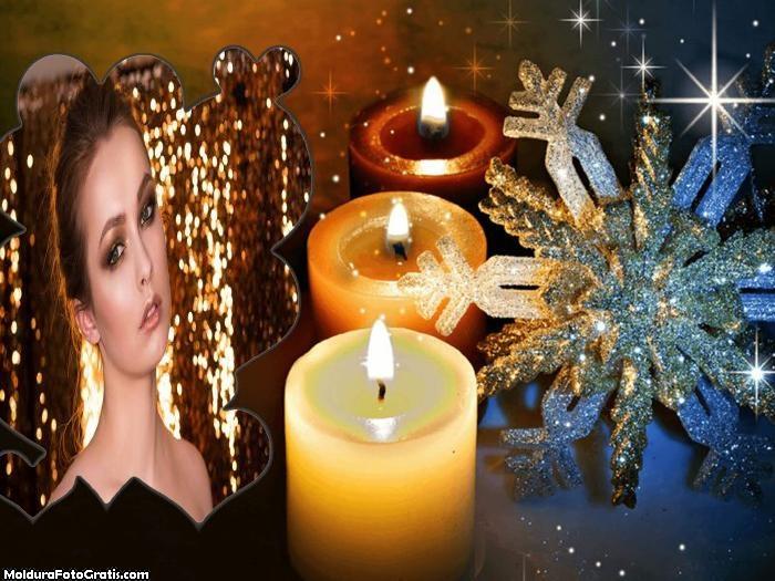 Corações de Ano Novo Moldura