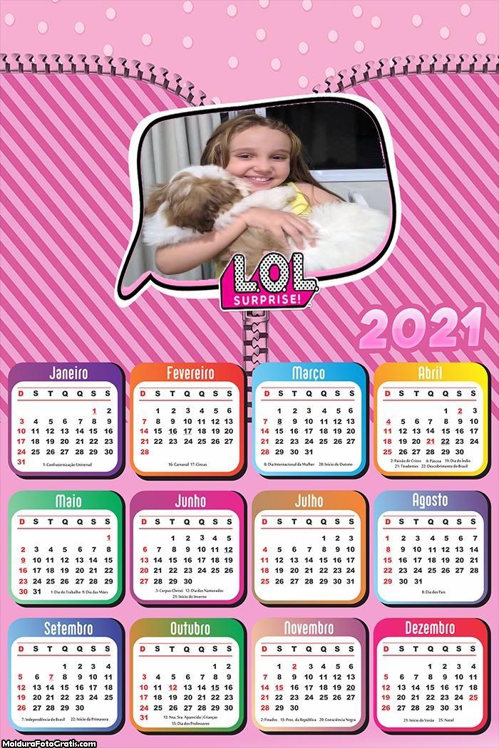 Calendário LOL 2021