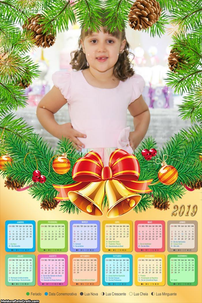 Calendário Pinhas Natalina 2019