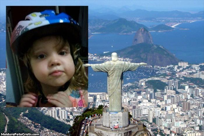 Moldura Rio de Janeiro Cristo Redentor