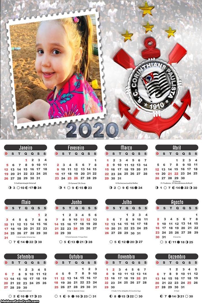 Calendário do Corinthians 2020