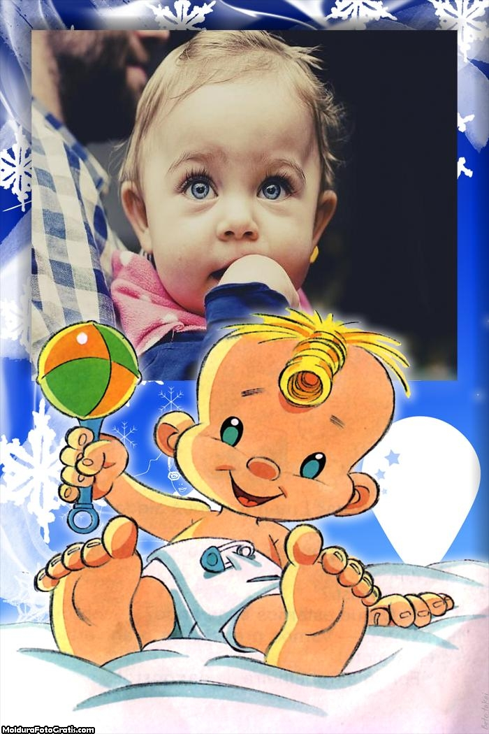 Chocalho Bebê Moldura