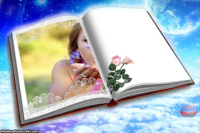 Moldura Livro no Céu