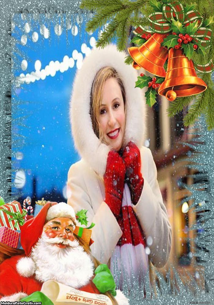 Imagem de Papai Noel Moldura