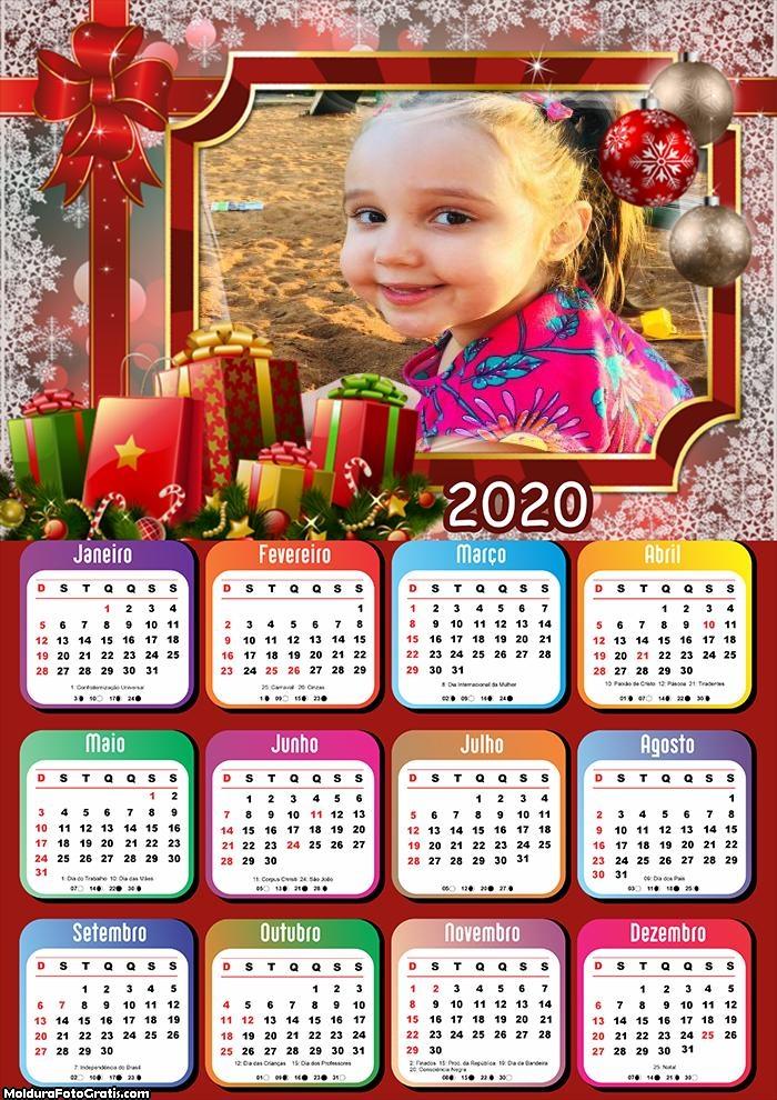 Calendário Presente Natalinos 2020