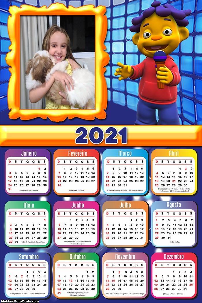 Calendário Cid Cientista 2021
