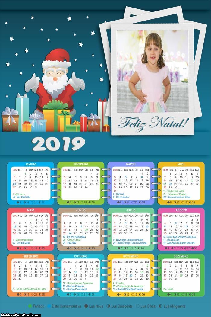 Calendário Noite de Natal 2019