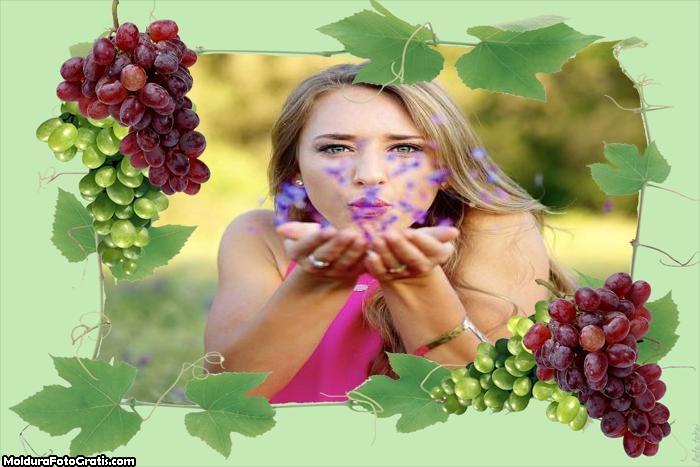 Cachos de Uvas Moldura