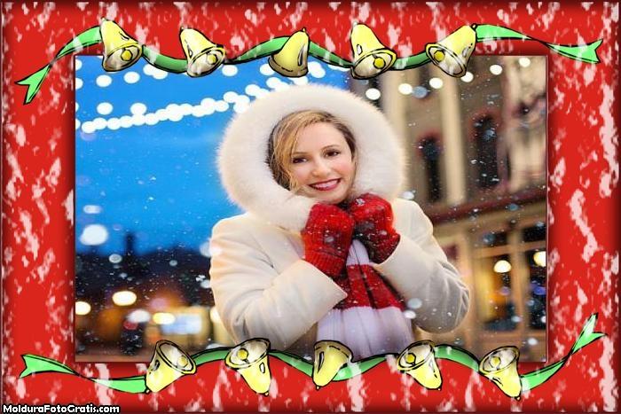 Noite de Natal Moldura