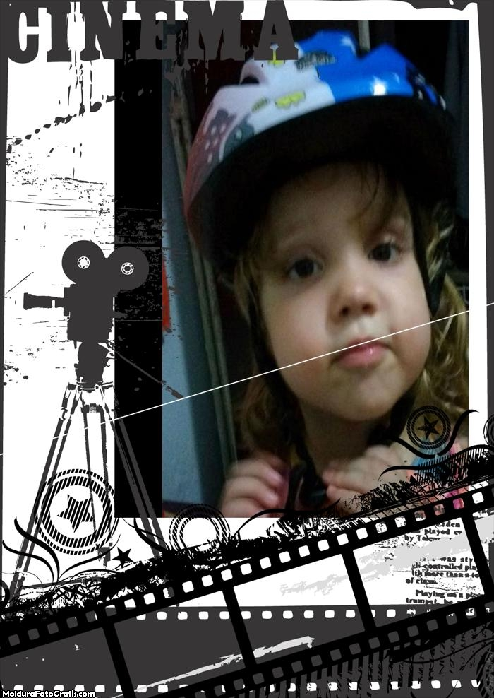 FotoMoldura Câmera de Cinema