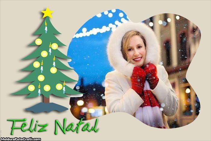 Feliz Natal a todos Moldura